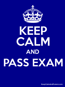 Keep Calm Exam